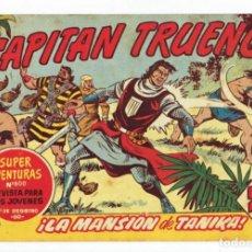 Tebeos: EL CAPITAN TRUENO - Nº 377 - ORIGINAL - BRUGUERA 1963. Lote 286385698