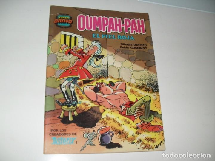 OUMPAH-PAH 5,DE LOS CREADORES DE ASTERIX.EDITORIAL BRUGUERA,AÑO 1982. (Tebeos y Comics - Bruguera - Bravo)