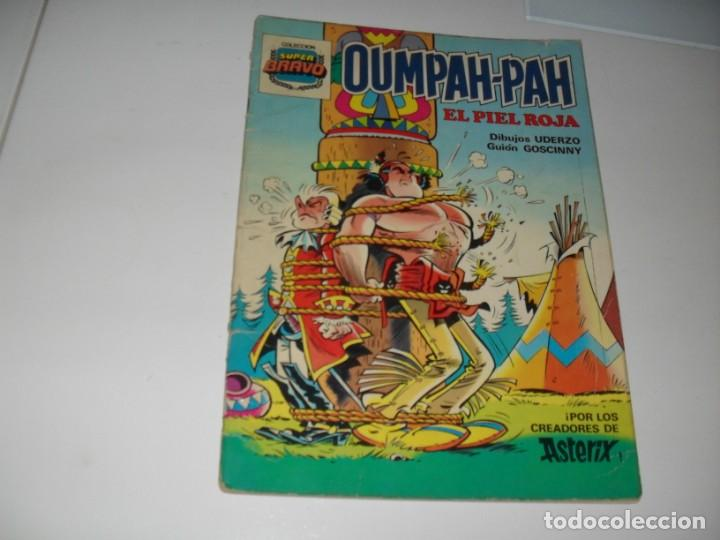 OUMPAH-PAH 2,DE LOS CREADORES DE ASTERIX.EDITORIAL BRUGUERA,AÑO 1982. (Tebeos y Comics - Bruguera - Bravo)