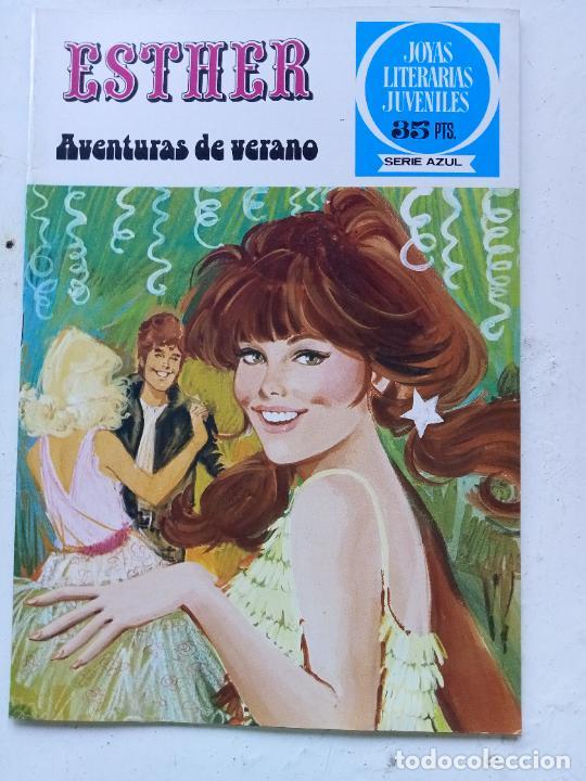 TEBEO DE ESTHER Y SU MUNDO Nº 47, JOYAS LITERARIAS JUVENILES SERIE AZUL, BRUGUERA 1979 (Tebeos y Comics - Bruguera - Esther)