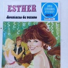 Tebeos: TEBEO DE ESTHER Y SU MUNDO Nº 47, JOYAS LITERARIAS JUVENILES SERIE AZUL, BRUGUERA 1979. Lote 286588478