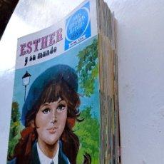 Tebeos: LOTE DE 34 TEBEOS DE ESTHER Y SU MUNDO, JOYAS LITERARIAS JUVENILES SERIE AZUL, BRUGUERA 70S'-80S'. Lote 286588483