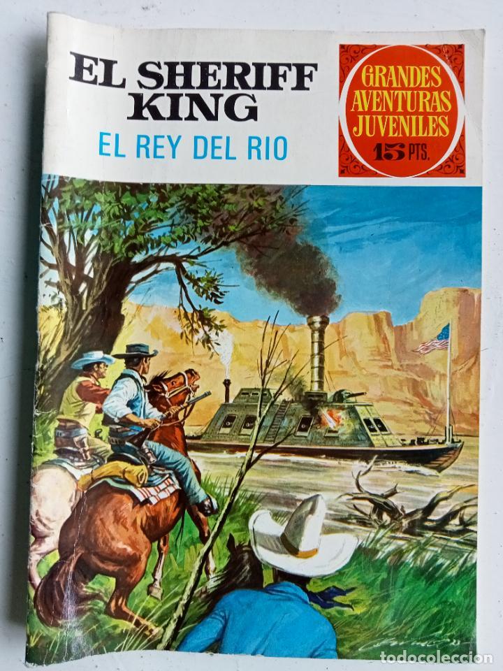 TEBEO EL SHERIFF KING Nº 51 EL REY DEL RÍO, JOYAS LITERARIAS JUVENILES SERIE ROJA, BRUGUERA 1973 (Tebeos y Comics - Bruguera - Sheriff King)