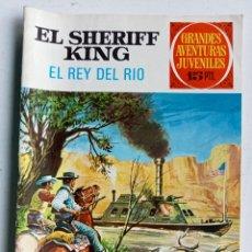 Tebeos: TEBEO EL SHERIFF KING Nº 51 EL REY DEL RÍO, JOYAS LITERARIAS JUVENILES SERIE ROJA, BRUGUERA 1973. Lote 286760043