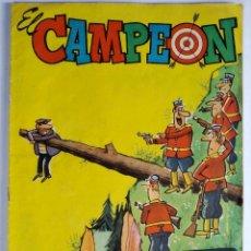 Tebeos: EL CAMPEÓN DE LAS HISTORIETAS 15 (1960) - CON EL JABATO - MUY BUEN ESTADO. Lote 286810573