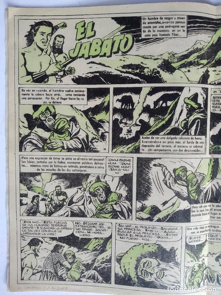Tebeos: El Campeón de las Historietas 1 (1960) - Primero de la colección - Con El Jabato - Excelente estado - Foto 4 - 286811458