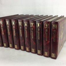 Tebeos: COLECCIÓN COMPLETA EL JABATO EDICIONES B 10 TOMOS EDICIÓN DE LUJO ACOLCHADOS 1996. Lote 286955063