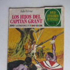 Livros de Banda Desenhada: JOYAS LITERARIAS JUVENILES Nº 9 LOS HIJOS DEL CAPITÁN GRANT BRUGUERA ARX149. Lote 287108763