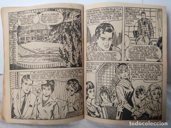 Tebeos: Novela As de corazones Lección para señoritas número 131 años 60 - Foto 15 - 287160513