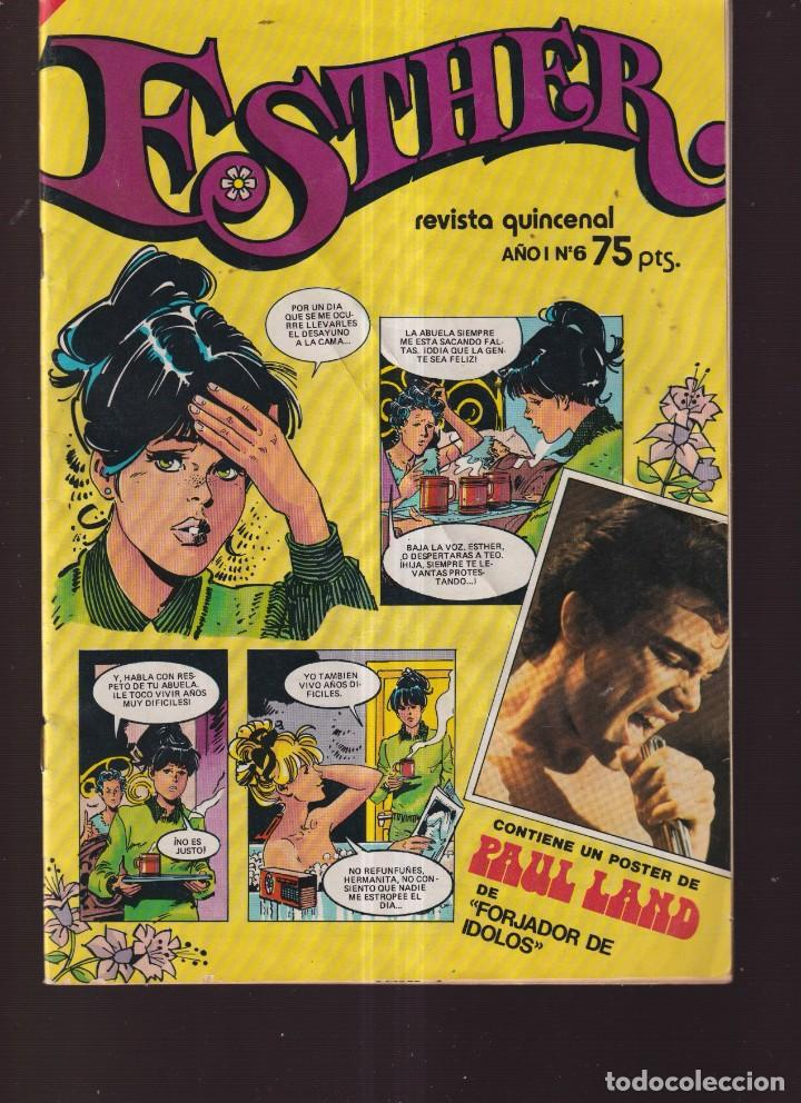 TEBEOS BRUGUERA ESTHER AÑO I Nº 6 (Tebeos y Comics - Bruguera - Esther)