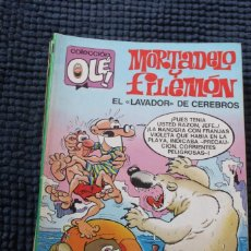 Livros de Banda Desenhada: COLECCION OLE Nº 322 M.77 MORTADELO Y FILEMON EL LAVADOR DE CEREBROS 1ª EDICION. Lote 287253603