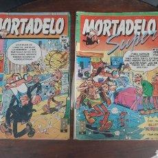 Tebeos: DOS COMICS MORTADELO. Lote 287263563