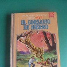 Tebeos: EL CORSARION DE HIERRO TOMO II FAMOSAS NOVELAS SERIE ROJA BRUGUERA 1978 1ª EDICION. Lote 287329853