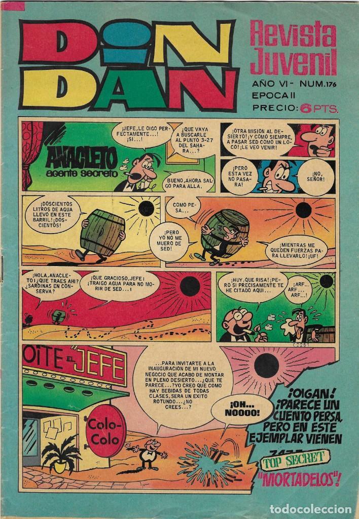 ED. BRUGUERA -- DIN DAN -- Nº176 (Tebeos y Comics - Bruguera - Din Dan)