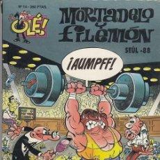 Livros de Banda Desenhada: OLE - EDICIONES B - MORTADELO Y FILEMON - Nº 14 #. Lote 287474048