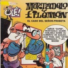 Tebeos: OLE - EDICIONES B - MORTADELO Y FILEMON - Nº 35 EL CASO DEL SEÑOR PROBETA #. Lote 287474773