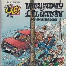 Tebeos: OLE - EDICIONES B - MORTADELO Y FILEMON - Nº 59 - LOS SECUESTRADORES #. Lote 287474913