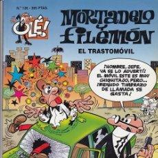 Tebeos: OLE - EDICIONES B - MORTADELO Y FILEMON - Nº 136 EL TRASTOMOVIL #. Lote 287480748