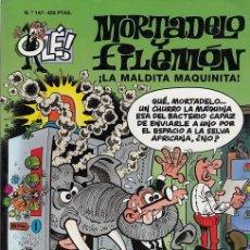 Tebeos: OLE - EDICIONES B - MORTADELO Y FILEMON - Nº 147 LA MALDITA MAQUINITA #. Lote 287482208
