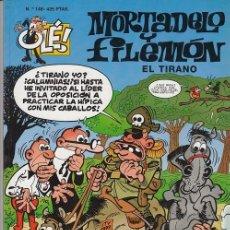 Tebeos: OLE - EDICIONES B - MORTADELO Y FILEMON - Nº 148 EL TIRANO #. Lote 287482298