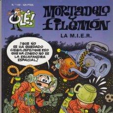 Tebeos: OLE - EDICIONES B - MORTADELO Y FILEMON - Nº 149 LA M.I.E.R. #. Lote 287482453