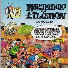 Tebeos: OLE - EDICIONES B - MORTADELO Y FILEMON - Nº 154 LA VUELTA #. Lote 287483043