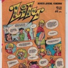 Tebeos: COMIC DE LILY DEL AÑO 1981 Nº 1054. Lote 287568643