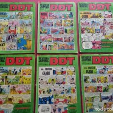 BDs: LOTE DE 6 DDT -BRUGUERA-VER NUMERACION. Lote 287678523
