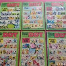 BDs: LOTE DE 6 DDT -BRUGUERA-VER NUMERACION. Lote 287679143