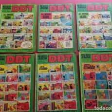 BDs: LOTE DE 6 DDT -BRUGUERA-VER NUMERACION. Lote 287680618