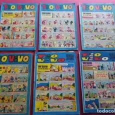 Tebeos: LOTE DE 6 TIO VIVO -BRUGUERA-VER NUMERACION. Lote 287683068