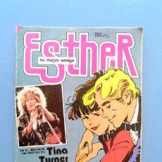 Tebeos: ESTHER. TU MEJOR AMIGA Nº105 BRUGUERA 1985. CON POSTER DE TINA TURNER.. Lote 287756568