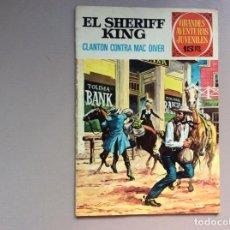 Tebeos: SHERIFF KING NÚMERO 32 CLANTON CONTRA MAC DIVER. Lote 287761898