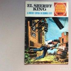 Tebeos: SHERIFF KING NÚMERO 16 LA MUERTE ESPERA EN CRUMBLE CITY. Lote 287764613