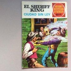 Tebeos: SHERIFF KING NÚMERO 18 CIUDAD SIN LEY. Lote 287766478