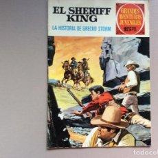 Tebeos: SHERIFF KING NÚMERO 20 LA HISTORIA DE GRECKO STORM. Lote 287768048