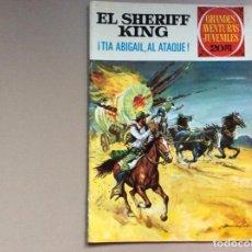 Tebeos: SHERIFF KING NÚMERO 68 TIA ABIGAIL,AL ATAQUE. Lote 287771928