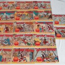 Livros de Banda Desenhada: LOTE TEBEOS EL CAPITÁN TRUENO ORIGINALES ¡¡¡IMPECABLE ESTADO!!! BRUGUERA 1964. Lote 287806783