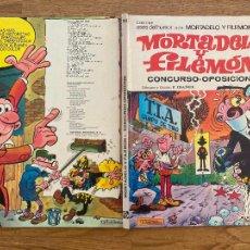 Tebeos: ¡¡LIQUIDACION!! - ASES DEL HUMOR 34 - MORTADELO Y FILEMON - BRUGUERA 1976 - DIFICIL - GCH. Lote 287851328