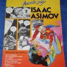 Tebeos: SELECCIÓN DE CUENTOS - COLECCIÓN FIRMADO POR ISAAC ASIMOV Nº 3 - FERNANDO FERNÁNDEZ - BRUGERA (1983). Lote 287859093