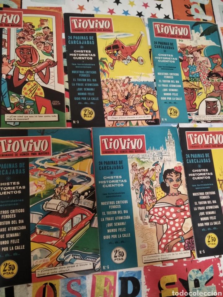 Tebeos: Revistas tio vivo - Foto 3 - 287864723