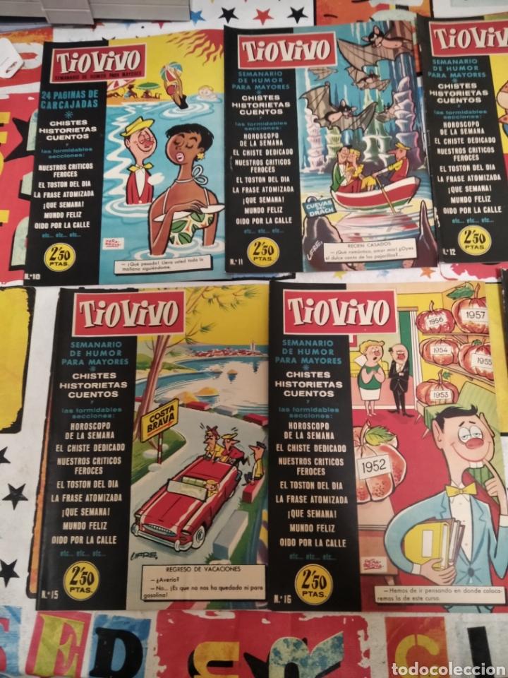 Tebeos: Revistas tio vivo - Foto 6 - 287864723