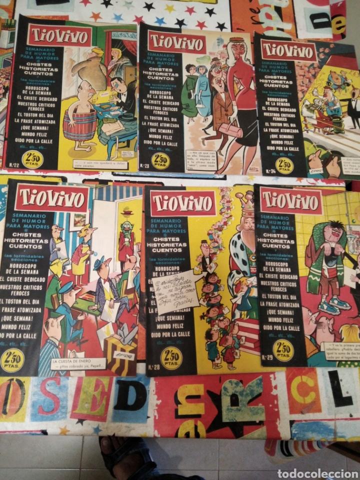 Tebeos: Revistas tio vivo - Foto 11 - 287864723