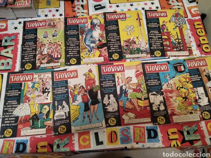 Tebeos: Revistas tio vivo - Foto 13 - 287864723