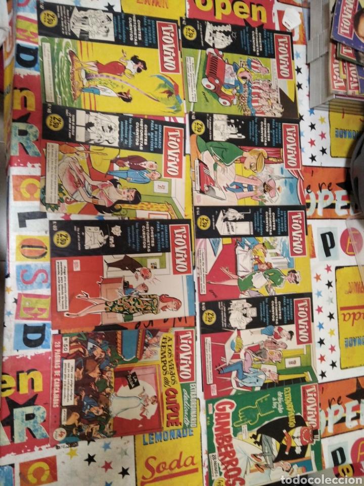 Tebeos: Revistas tio vivo - Foto 17 - 287864723