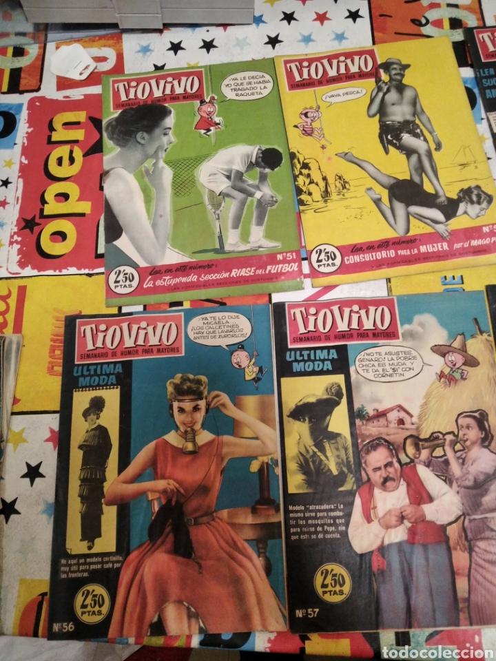 Tebeos: Revistas tio vivo - Foto 21 - 287864723