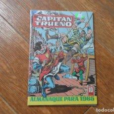 Tebeos: EL CAPITÁN TRUENO - ALMANAQUE PARA 1965 BRUGUERA EDICION FACSIMIL. Lote 287880348