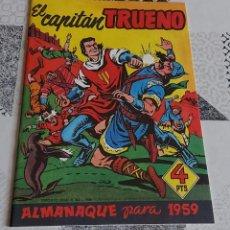 Tebeos: CAPITAN TRUENO ALMANAQUE 1959 BRUGUERA REEDICION. Lote 287896423