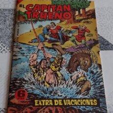 Tebeos: CAPITAN TRUENO EXTRA VACACIONES 5 PTAS BRUGUERA REEDICION. Lote 287896928