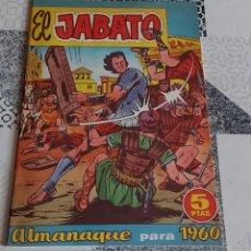 Tebeos: EL JABATO ALMANAQUE 1960 BRUGUERA REEDICION. Lote 287897378